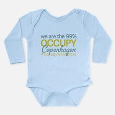 Occupy Copenhagen Long Sleeve Infant Bodysuit
