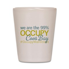Occupy Coos Bay Shot Glass