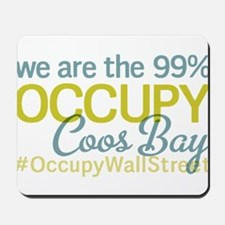 Occupy Coos Bay Mousepad