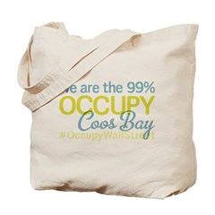 Occupy Coos Bay Tote Bag