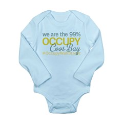Occupy Coos Bay Long Sleeve Infant Bodysuit