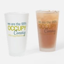 Occupy Conway Drinking Glass