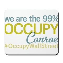 Occupy Conroe Mousepad