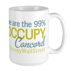 Occupy Concord Large Mug
