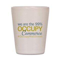 Occupy Commerce Township Shot Glass