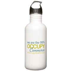Occupy Commerce Township Water Bottle