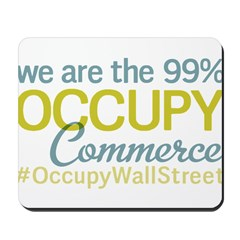 Occupy Commerce Township Mousepad
