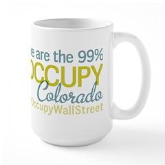 Occupy Colorado Springs Large Mug