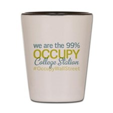 Occupy College Station Shot Glass