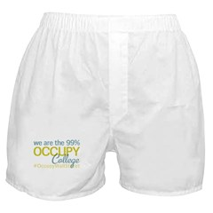 Occupy College Park Boxer Shorts