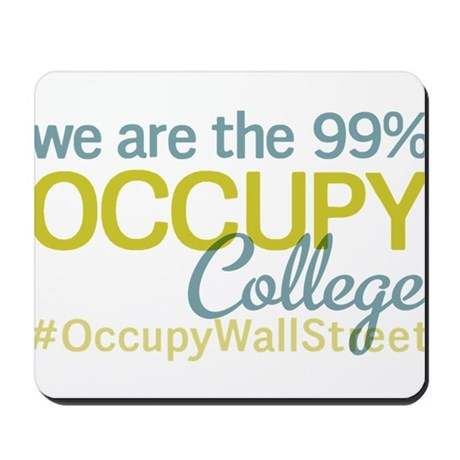 Occupy College Park Mousepad