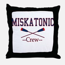 Miskatonic Crew Throw Pillow