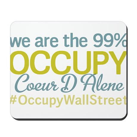 Occupy Coeur D Alene Mousepad