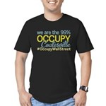 Occupy Coatesville Men's Fitted T-Shirt (dark)