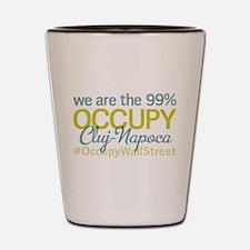 Occupy Cluj-Napoca Shot Glass