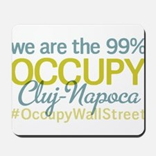 Occupy Cluj-Napoca Mousepad