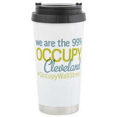 Occupy Cleveland Stainless Steel Travel Mug