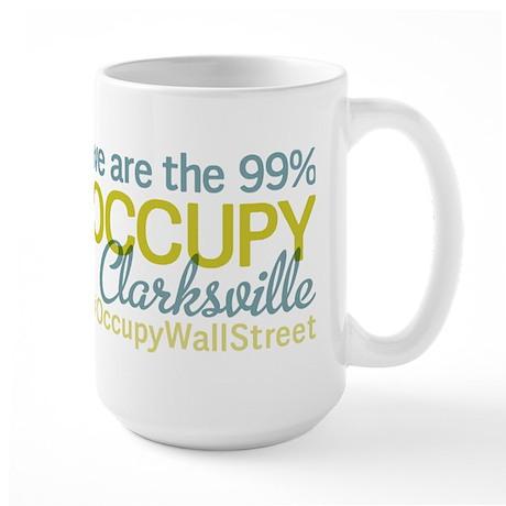 Occupy Clarksville Large Mug