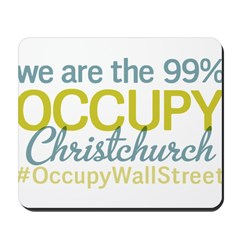 Occupy Christchurch Mousepad