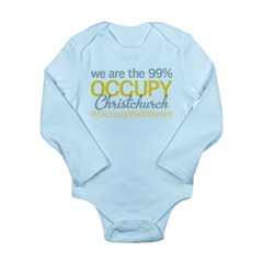 Occupy Christchurch Long Sleeve Infant Bodysuit