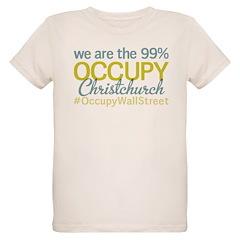 Occupy Christchurch Organic Kids T-Shirt