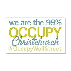 Occupy Christchurch Car Magnet 20 x 12