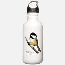 Black-Capped Chickadee Water Bottle