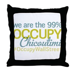 Occupy Chicoutimi Throw Pillow