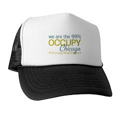 Occupy Chicago Trucker Hat