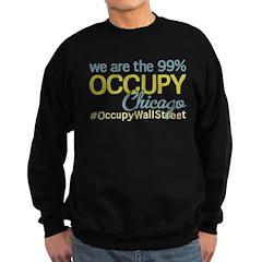 Occupy Chicago Sweatshirt (dark)