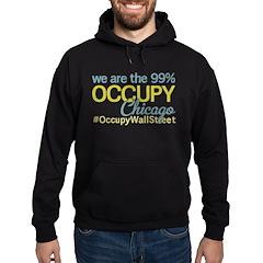 Occupy Chicago Hoodie (dark)