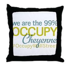 Occupy Cheyenne Throw Pillow