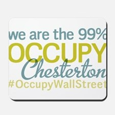 Occupy Chesterton Mousepad