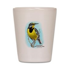 Eastern Meadowlark Shot Glass