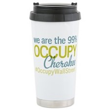 Occupy Cherokee Travel Coffee Mug