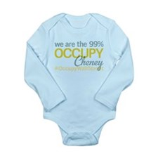 Occupy Cheney Long Sleeve Infant Bodysuit