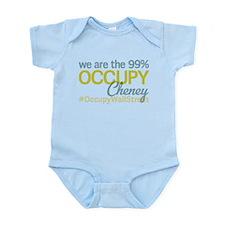 Occupy Cheney Infant Bodysuit