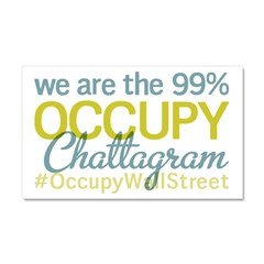 Occupy Chattagram Car Magnet 20 x 12