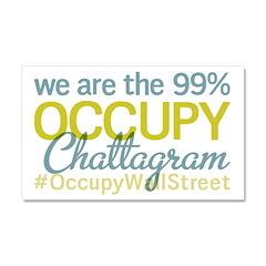 Occupy Chattagram Car Magnet 20 x 12