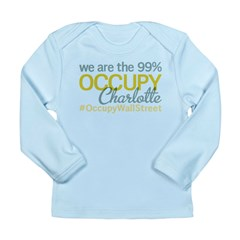 Occupy Charlotte Long Sleeve Infant T-Shirt