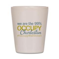 Occupy Charleston Shot Glass