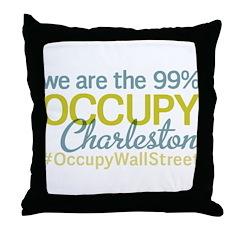 Occupy Charleston Throw Pillow
