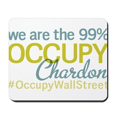 Occupy Chardon Mousepad