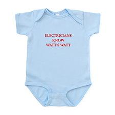 electrician joke Infant Bodysuit
