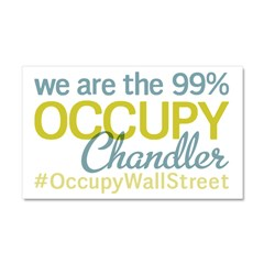 Occupy Chandler Car Magnet 20 x 12