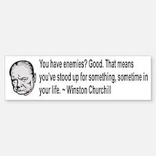 Churchill Bumper Bumper Sticker