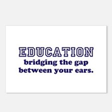 Education Bridging The Gap Postcards (Package of 8