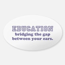 Education Bridging The Gap Decal
