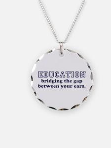 Education Bridging The Gap Necklace