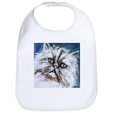 white persian cute cat Bib